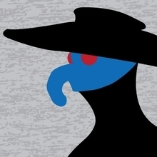 Lil Blue Plague Doctor